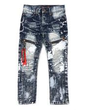 Akademiks - Zip Moto Jeans (4-7)-2408136