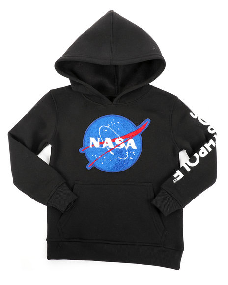 Arcade Styles - Southpole x NASA Pullover Fleece Hoodie W/ Chenille Patch (4-7)