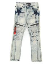 Jeans - Zip Moto Jeans (8-18)-2408157