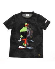 Tops - Marvin The Martian Skeleton Tee (8-18)-2406437