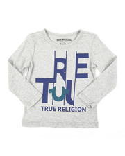 True Religion - TR Slice Long Sleeve Tee (2T-4T)-2406148
