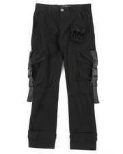 SWITCH - 3D Pocket Detail Pants W/ Buckle (8-18)-2407651