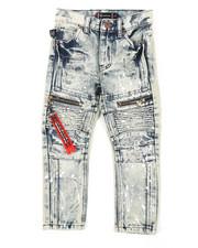 Akademiks - Zip Moto Jeans (4-7)-2408149