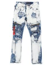 Jeans - Zip Moto Jeans (8-18)-2408013