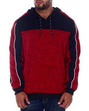 Buyers Picks - Fleece Pieced On Marled Anorak P/O (B&T)-2408425