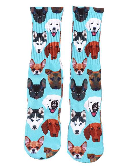SAVVY SOX - Mixed Dogs Crew Socks