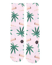 DRJ SOCK SHOP - Weed & Joints Crew Socks-2408979