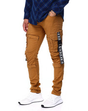 Men - CARGO PANT W TAPE DETAIL-2408763
