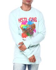 Hustle Gang - splat a bear ls tee-2408485