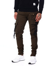SWITCH - Cargo Pant w Buckle Detail-2408653