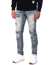 SMOKE RISE - SLIM PATCHWORK JEAN-2408730