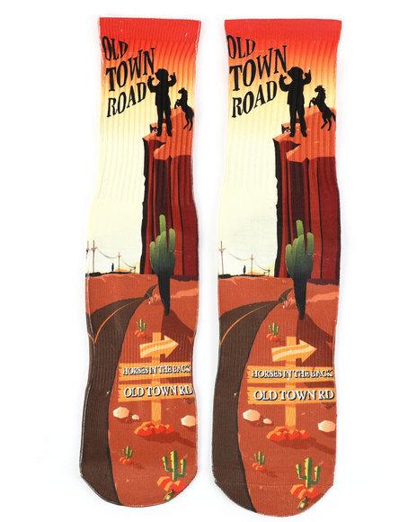 SAVVY SOX - Old Town Road Crew Socks