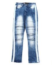 Boys - Destructed Knee Treatment Jeans (8-18)-2408251