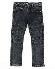 Phat Farm - Skinny Stretch Washed Moto Jeans (4-7)-2408296