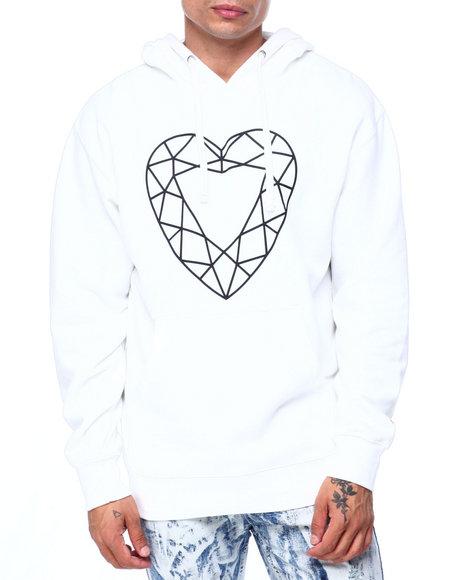 Diamond Supply Co - HEART CUT HOODIE