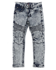 Phat Farm - Skinny Stretch Washed Moto Jeans (4-7)-2408306