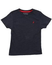 Boys - Nautica Logo Printed Tee (2T-4T)-2408284
