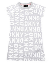 Dresses - DKNY Knit Logo Dress W/ Onseam Pockets (7-16)-2408321