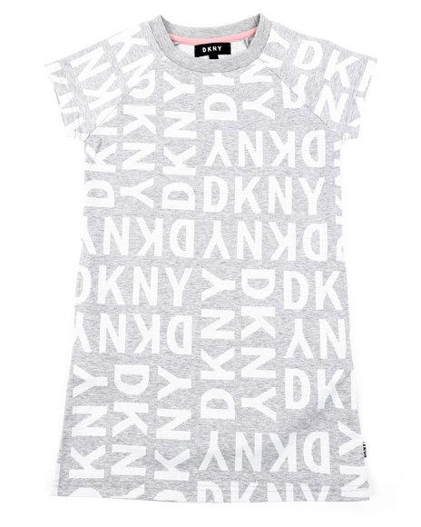 DKNY Jeans - DKNY Knit Logo Dress W/ Onseam Pockets (7-16)