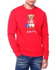 Hustle Gang - hustle bear crew sweatshirt-2408505
