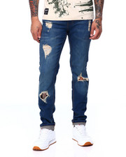 Jeans & Pants - VINTAGE WASH RIPPED JEAN-2407733