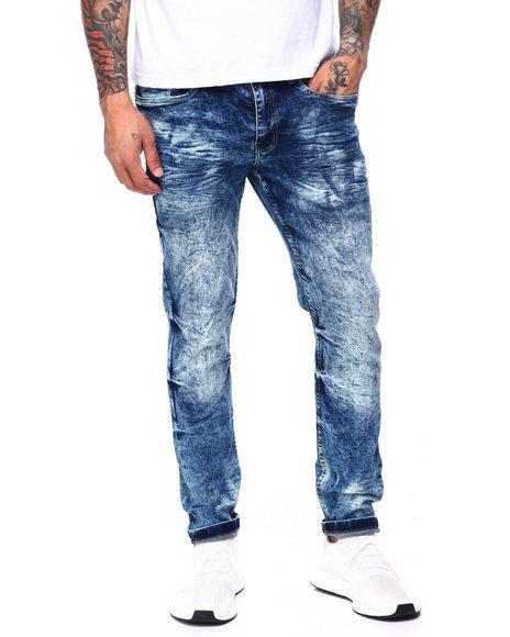 Buyers Picks - Blownout Ice Blue Ripped Jean