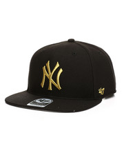 Accessories - New York Yankees No Shot Metallic 47 Captain Hat-2405296