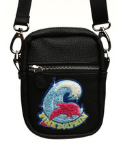 Pink Dolphin - Shimmer Chenille Sling Bag-2408248