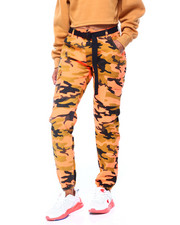 Red Fox - Neon Camo Twill Jogger w/ Belt-2406280