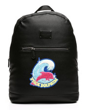 Men - Pink Dolphin Shimmer Chenille Backpack-2408249