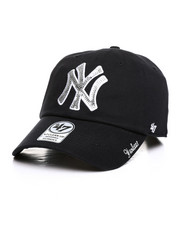 Accessories - New York Yankees Sparkle 47 Clean Up Hat-2406519
