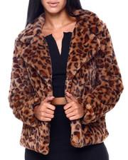 Jou Jou - Faux Fur Jacket-2409283
