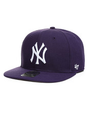 Accessories - New York Yankees Sure Shot 47 Captain Snapback Hat-2406513