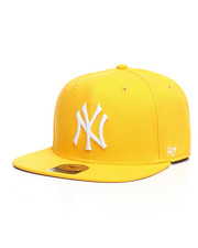 Accessories - New York Yankees Sure Shot Captain Snapback Hat-2406492