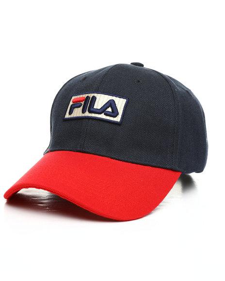 Fila - Color Block Strapback Dad Hat