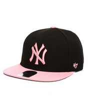 Women - New York Yankees Sure Shot Two Tone 47 Captain Snapback Hat-2406471
