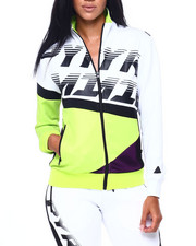 Women - Pyramid Raceway Colorblock Track Jacket-2409329