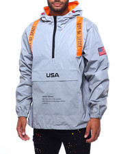 Mens-Fall - Reflective Space Windbreaker-2399352