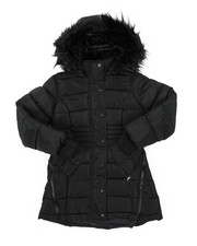 Outerwear - Long Puffer Jacket (7-16)-2409058