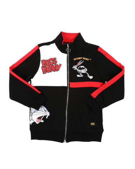 Looney Tunes - Angry Bugs Bunny Track Jacket (8-18)