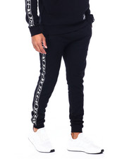 SMOKE RISE - FASHION TAPE FLEECE JOGGER-2410269