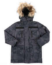 Sizes 8-20 - Big Kids - Parka Jacket (8-20)-2410004