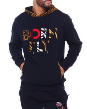 Born Fly - Exotic Animal Print Camo Hoodie-2409920