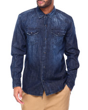 True Religion - LS Denim Wash SHIRT-2410641