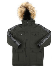 Sizes 8-20 - Big Kids - Parka Jacket (8-20)-2410096