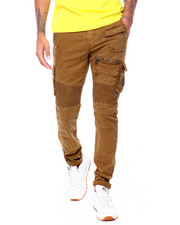 Jeans & Pants - MOTO CARGO TWILL PANT-2409760