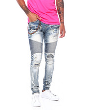 Jeans - DISTRESSED MOTO JEAN-2410481