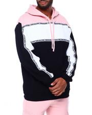 Pink Dolphin - TRI-BLOCK HOODIE-2409457