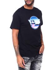 Pink Dolphin - METALLIC GHOST TEE-2409477