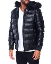 Buyers Picks - PU Puffer Jacket w Hood by Robert Phillipe-2410068